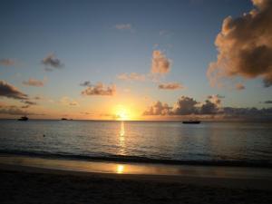 foto di tramonto, tramonto Un Tramonto caraibico da Antigua